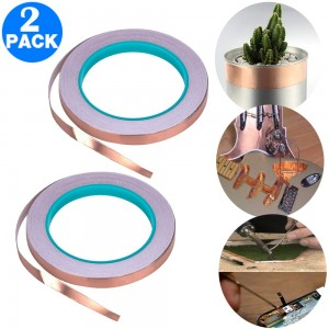 2 X 6mmx20m Copper Foil Tape for EMI Shielding