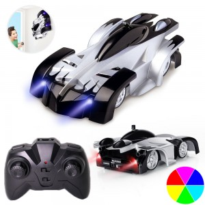 Kids Remote Control Rechargeable Wall Climbing Vehicle Car Toys