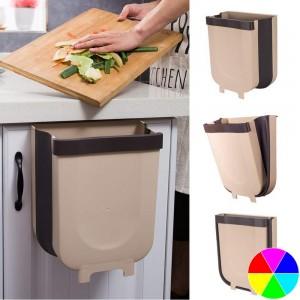 Kitchen Foldable Hanging Trash Garbage Bins
