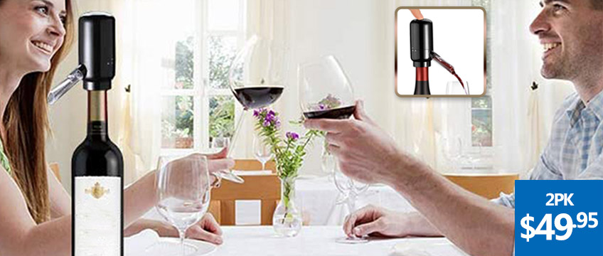 Electric Automatic Red Wine Pourer Aerator