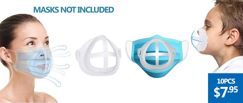 10/20PCS Face Masks Brackets