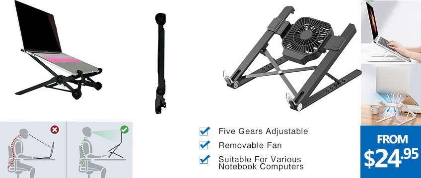 Laptop-Stand-with-Cooling-Fan-Folding-Portable-Laptop-Bracket-5-level-Height-Adjustable